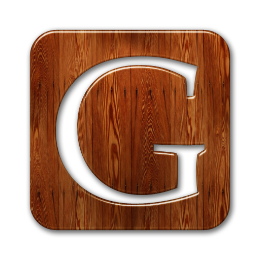 099645 glossy waxed wood icon social media logos google logo square